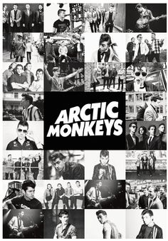 Arctic Monkeys Poster Print by MusicPosters on Etsy
