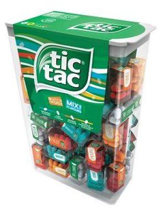In a perfect world, everyone would have fresh breath. In the real world, the noxious fumes of your co-worker's curry lunch are constantly wafting out of his mouth and over your cubicle walls. Send him a soft, subtle hint with this gigantic box of Tic Tacs that are filled to the brim with dozens of mini-boxes of even more Tic Tacs. Girls Room Accessories, African Quotes, Bubble Gum Flavor, Gum Flavors, Cool Fidget Toys, Heavy Water, Kids Room Wallpaper, Sour Candy, Cute School Supplies