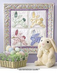 Bunny wallhanging