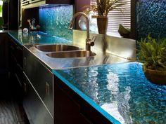 Best Popular Modern Kitchen Counter Decor'