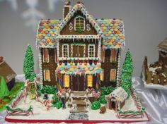 Amazing Gingerbread Houses | The Charmed Mom