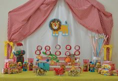 Under The Big Top For A Special Birthday Party : Anders Ruff Custom Designs :