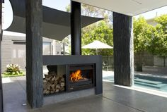 Jetmaster Open Wood Fire THE FIREPLACE » Archipro