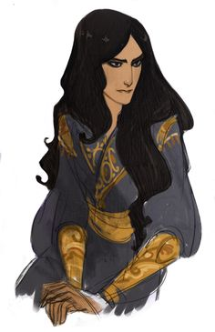 "Sita Knah' Corgan (K is silent. Corgan in Jahmalian means ""Path of the Strong"" and Knah makes things plural. Explains whay Lanie's last name is Roads). She is a well known worrior and ruler of her own City - state. She is a very kind, and calm women, but really stern when she needs to be. Mother to Future Nalanie Roads formaly known on Jahmal as Gesha Knah' Corgan."