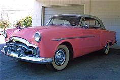 1951 Packard Convertible in Austin TX at Murphos