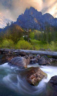 Mt. Baring, Washington; photo by Trevor Anderson