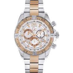 Reloj guess collection cronógrafo bicolor y02006g1