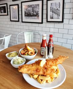 Ali tried out the fish and chips at many restaurants up and down the country including Lon...
