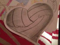 Volleyball Tattoo Idea