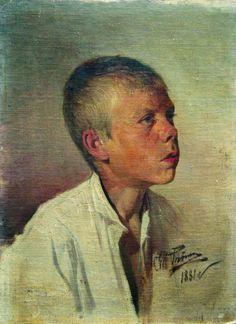 Портрет мальчика. 1881. Илья Ефимович Репин