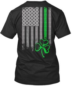 Gresham City Shamrock Tri-Blend Long Sleeve T-Shirt