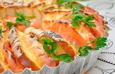 Muffinový hemendex - Báječné recepty Ham And Cheese, Morning Breakfast, Cobbler, Baked Potato, Sushi, Cooking Recipes, Eggs, Snacks, Fruit