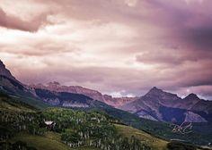 Purple Mountain Majesty - Telluride by Brenda Colwell