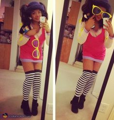 Loonette the Clown from Big comfy couch - Halloween Costume Contest via @costumeworks