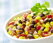 Bean, Corn, Avocado Salad via @SparkPeople