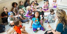 Spark your children's imaginations this summer by enrolling them in The Walters Art Museum  Summer Camp! Kids in grades 1–8 will explore all the art the Walters has to offer, and create their own art, too. Each Friday, friends and family are invited to share in the fun at the student showcase and group performance. #campguide