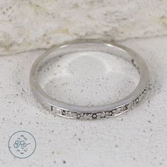 VICTORIA TOWNSEND DIAMOND Accent STACK 1.5g - Sterling Silver - Ring (7) #VICTORIATOWNSEND #Band