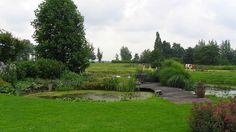Teo van Horssen   Tuinontwerp Hoe landelijk wil je het hebben?! Hovenier vijver natuurlijke tuin ronde vijver