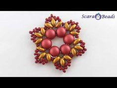 ScaraBeads. com - YouTube Основа колье бусины бисероплетение Черемисина Scarabeads