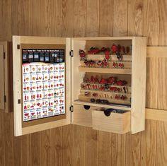 Freud Router Bit Storage Cabinet.  Want !