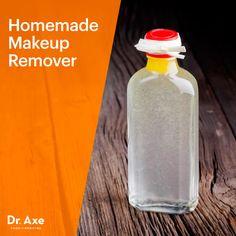 Homemade makeup remover - Dr. Axe