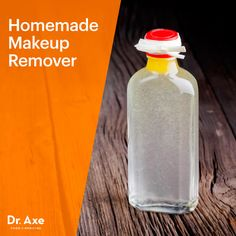 Homemade makeup remover - Dr. Axe http://www.draxe.com #health #holistic #natural