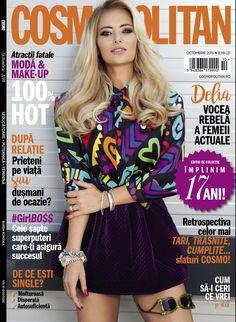 Cosmopolitan Magazine, Latest Issue, Hot Blondes, Celebs, Celebrities, Editorial Fashion, Celebrity Style, Beautiful Women, Singer
