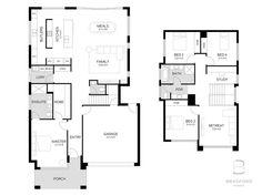 Elliot Floorplan from Bradford Homes