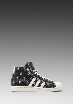 adidas Originals x Opening Ceremony Pro Model Bball in Black/Legacy/Running White