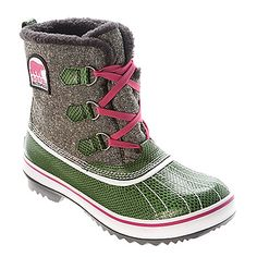 Sorel Tivoli Women's Green Twill Gray Waterproof Boots Size 9 Normal wear such as creases, scuffs, piling Ends of laces are frayed Inside tags have wear Could use a little cleaning — Please see photos for better description Aka Sorority, Alpha Kappa Alpha Sorority, Sorority Gifts, Fashion Bags, Fashion Accessories, Sorel Boots, Snow Boots Women, Green Fashion, Models