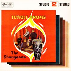 The Shangaans - Jungle Drums (1965)  Exotica meets Beat - The Shangaans from Southafrica