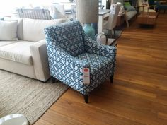Chair to go with the new sofa