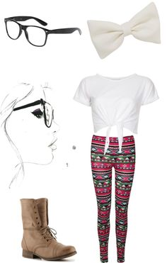 """""""Hipster."""" by cuteguitarist ❤ liked on Polyvore"""