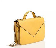 {Grayson Top Handle Bag} Linea Pelle - love the animal print interior fabric, too