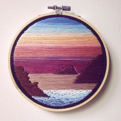 Magic Hour ✨ • 5 inch • Available on Etsy - linked in bio. • • • • #embroidery #embroideryart #embroideryhoop #embroidered #embroideryhoopart #etsy #etsyshop #etsyfinds #sunset #beach #waves #sky #makersmovement #makersgonnamake #wallhanging #wallart #homedecor #toronto #photooftheday #vintage #vintagelook #pretty #oneofakind #beachlife #happyplace #needlepainting #artsy #instagood #artstagram #handmade