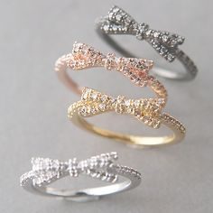 I think I need this bow ring... @Bridget I feel like you'd like it too.