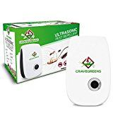 #USAshopping #9: Cravegreens Pest Control Ultrasonic Repellent -Electronic Plug -In Repeller for Insect, (White)