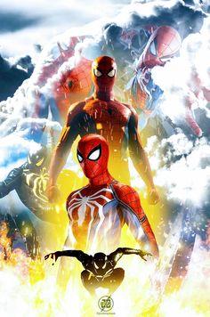Spider-Man PS4 Marvel Comics, Marvel Heroes, Marvel Avengers, Ms Marvel, Captain Marvel, Spiderman 3, Amazing Spiderman, Sipder Man, Thor Drawing