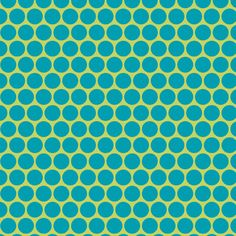 Apple Green and Turquoise Polka Dots, Medium SPLAT MAT, BPA Free - Laminated Cotton, 40x40 Inches. Small Tablecloth.. $28.00, via Etsy.