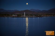 Full Moon at Puerto Escondido - Sea of Cortez, Mexico