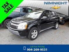 2005 Chevrolet Chevy Equinox LT Black Call for Price  miles 904-209-9531 Transmission: Automatic  #Chevrolet #Equinox #used #cars #NimnichtChevrolet #Jacksonville #FL #tapcars