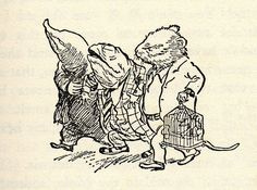 The Wind in the Willows. Book illustrations by EH Shepard, 1931