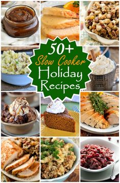 More than 50 Slow Cooker Holiday Recipes to get you out of the kitchen and spending more time with your family! | MomOnTimeout.com | #recipes #crock #pot #slow #cooker