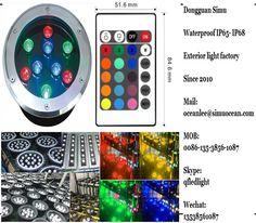 Smart RGB 9 w RGB RF remote control wall light from Dongguan simu hardware lighting co,ltd. Auto change color or RF remote control color change or infrared control Smart color change or Wifi control or DMX Control led outdoor lighting