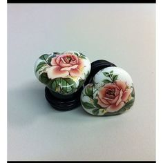 White Hearts with Flowers Earrings / Plugs Body Jewellery, Ear Jewelry, Jewelery, Jewelry Accessories, Plugs Earrings, Gauges Plugs, Flower Earrings, Tunnels And Plugs, Ear Tunnels