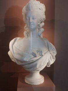 Sèvres Bust of Queen Marie Antoinette 1782 - Southern Folk Artist & Antiques Dealer/Collector Shabby Chic Bedrooms, Queen, Louis Xvi, Marie Antoinette, Versailles, Folk, Sculpture, Statue, Antiques