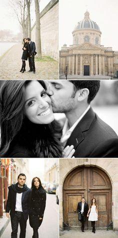 j'ai trop vu.  il faut habiter en Paris pour s'être fiancé.  quelqu'un lui dira?