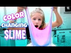 DIY COLOR CHANGING SLIME! Testing Popular No Borax Slime DIY Recipe Slimes - YouTube