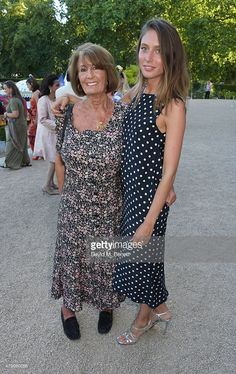 Lady Annabel Goldsmith (L) and Jemima Jones attend the Quintessentially Foundation and Elephant Family's Royal Rickshaw Auction presented by Selfridges at Lancaster House on June 30, 2015 in London, England.