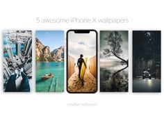 5 Awesome Iphone X Summer Wallpapers by Claudiu Fagadar